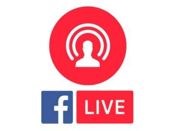 Facebook live Logos.
