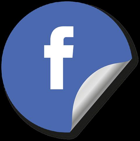 HD Facebook Social Media Icon, Round Icon, Blue Icon,.