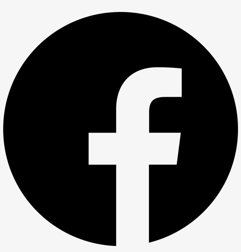 Facebook W Okręgu Icon.