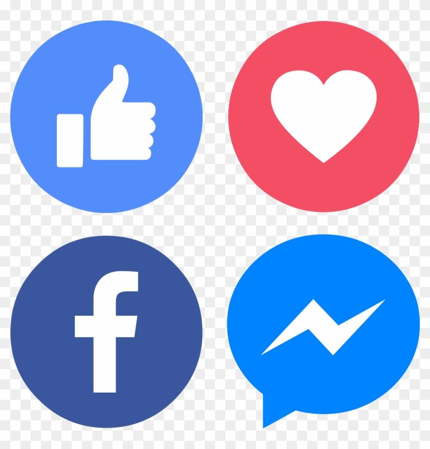 Download Icons Facebook Messenger Like Love Svg Eps.