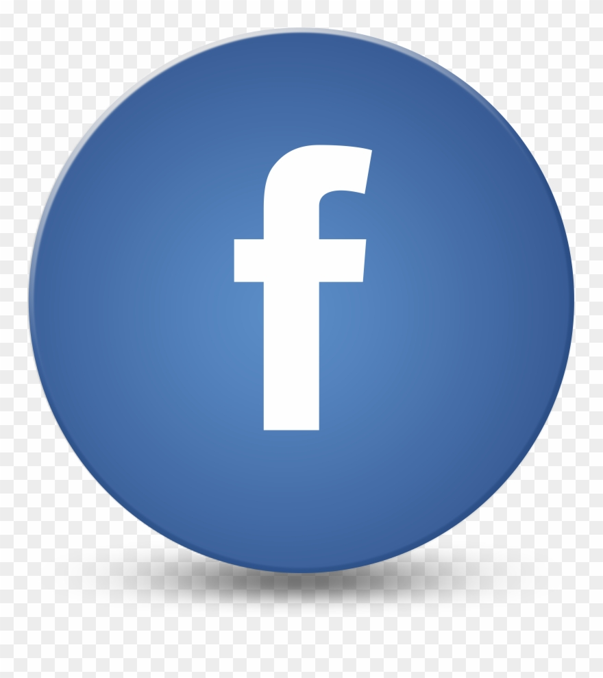 Round Facebook Logo Like Pictures To Pin On Pinterest.