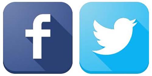 Logo fb dan twitter png 3 » PNG Image.