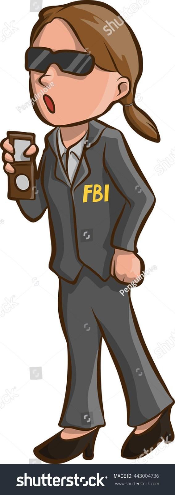 Fbi agent clipart 7 » Clipart Portal.