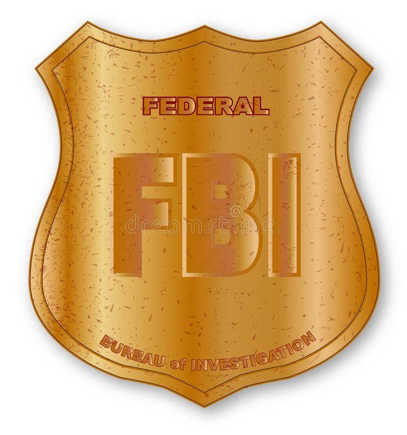 Fbi Badge Stock Illustrations.