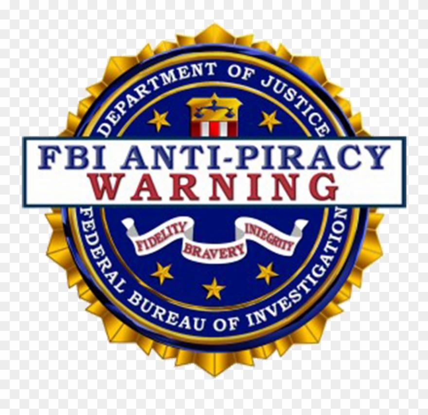 Fbi Warning Logo Png Clipart (#2459493).
