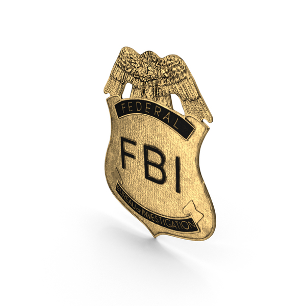 FBI Badge PNG Images & PSDs for Download.