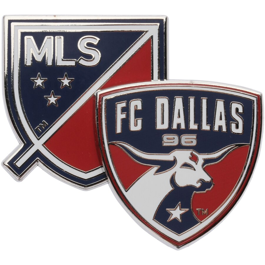 FC Dallas Dual Logo Pin.