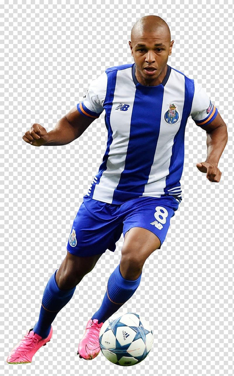 Yacine Brahimi Soccer player FC Porto Jersey Football.