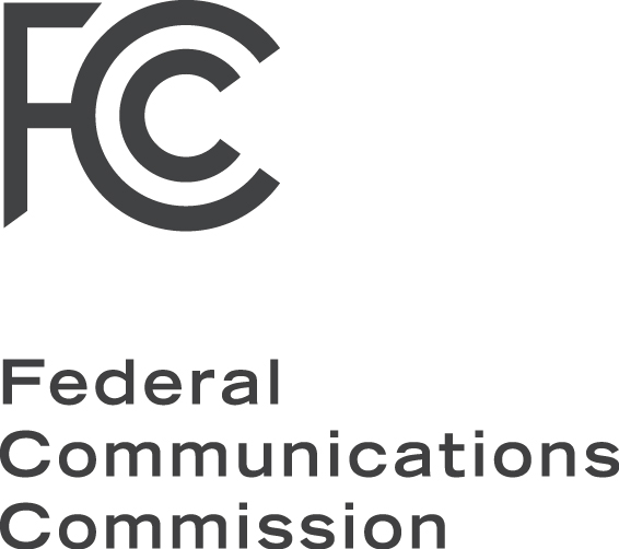 Logos of the FCC.