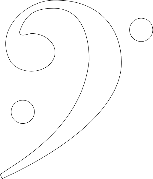 Bass Clef Art.