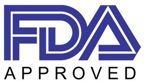 Fda Approved Logo Blue.