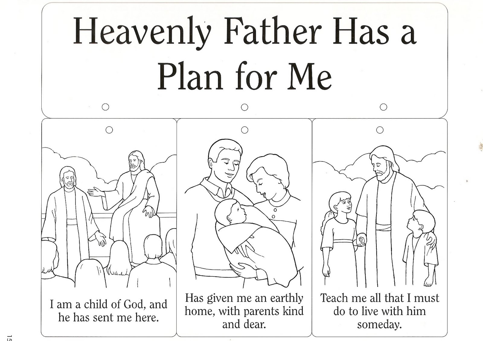 Clip Art Of Our Heavenly Father Clipart.