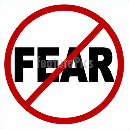 No fear clipart.