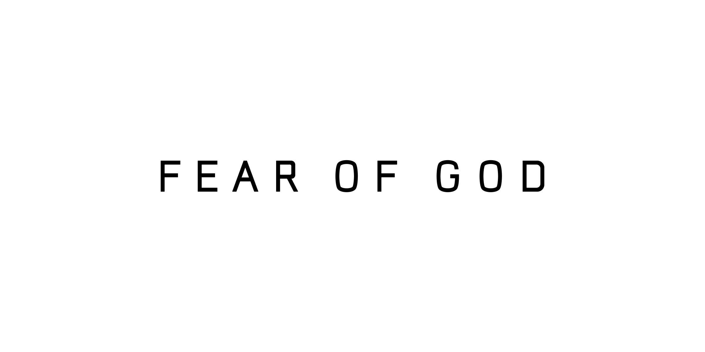 NIKE AIR FEAR OF GOD.