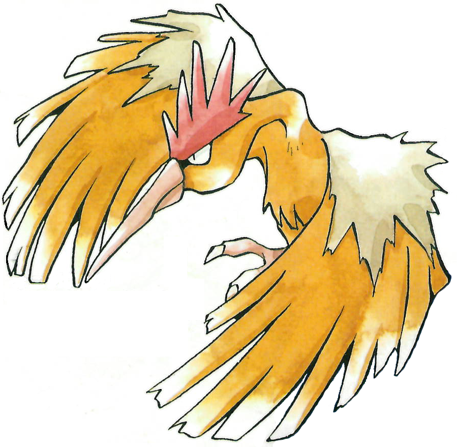 022 Fearow used Whirlwind and Drill Peck!.