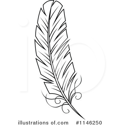 Indian Feather Clipart.