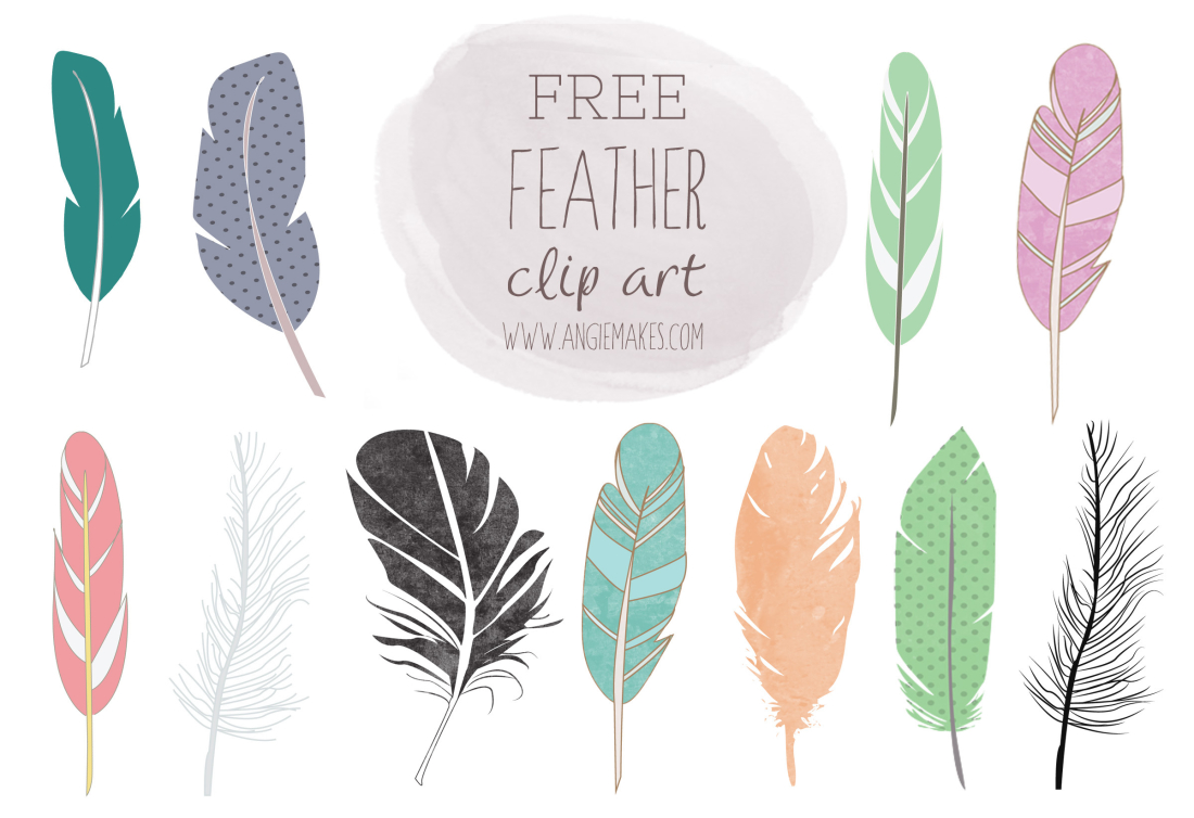 Free Feather Clip Art.