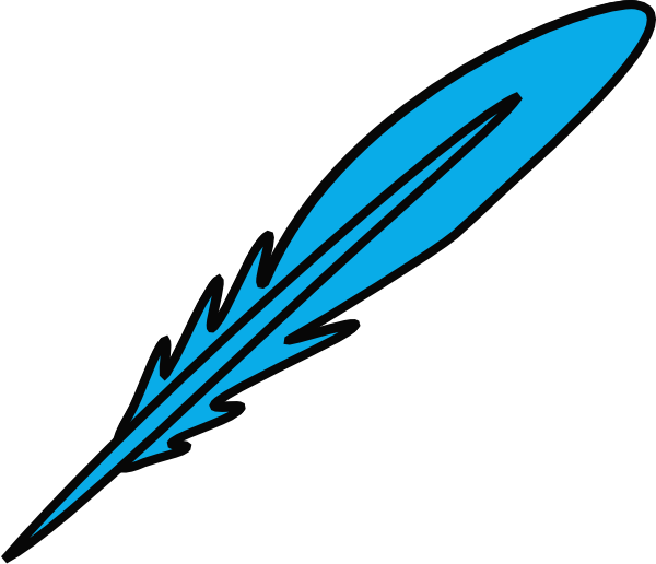 Turkey Feather Clipart.
