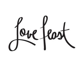 Love feast clipart.
