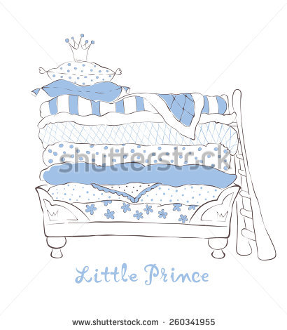Feather Bed Stock Photos, Royalty.