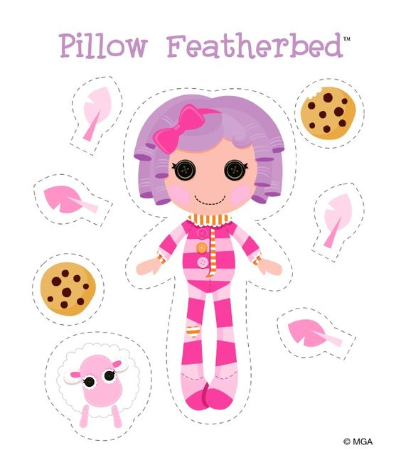 Lalaloopsy Pillow Featherbed.