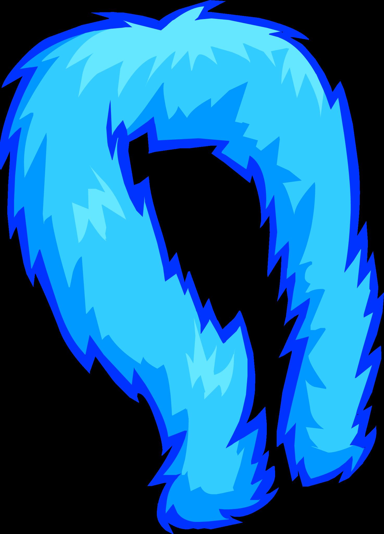 Blue Feather Boa.