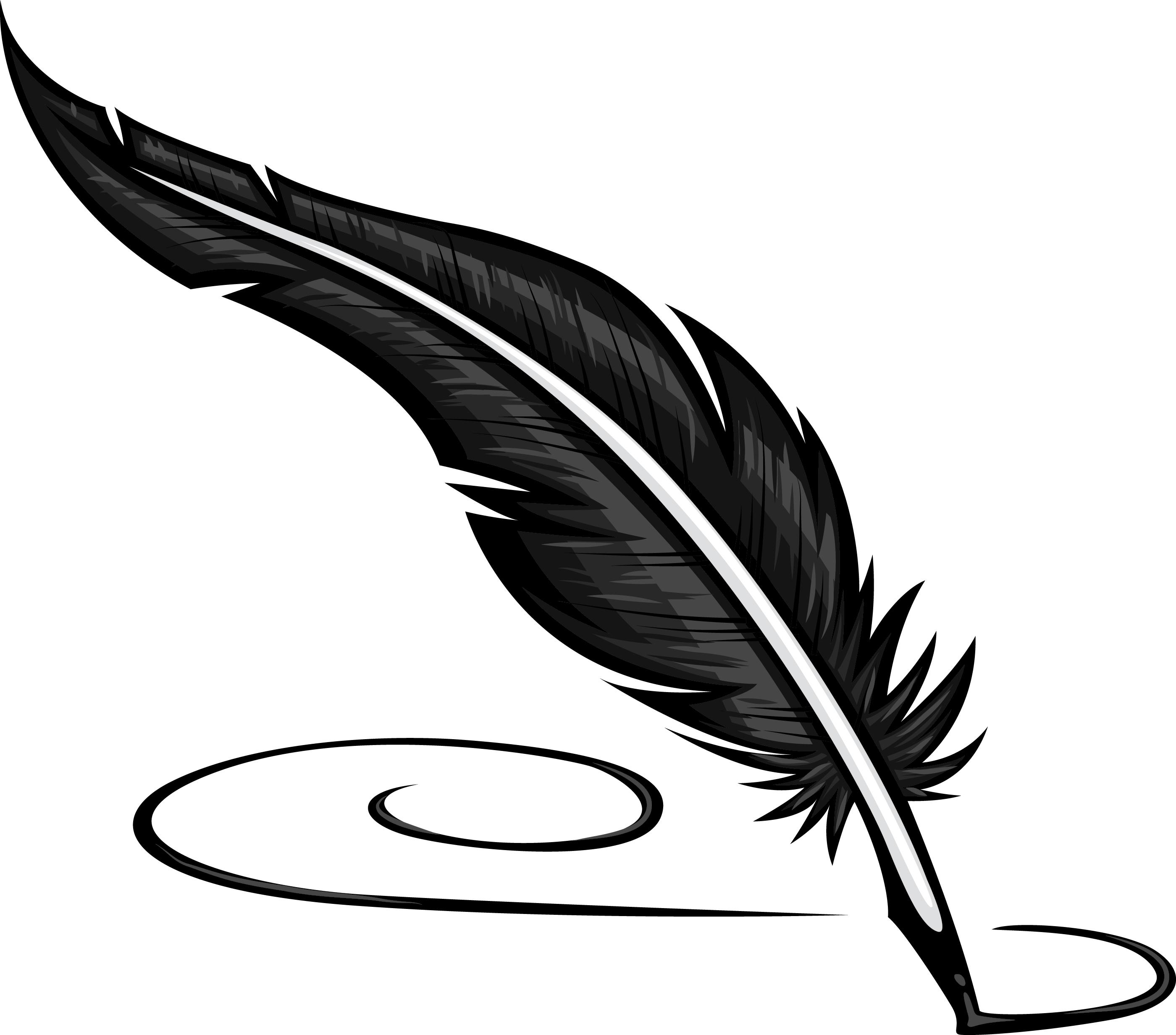 Unique Feather Clip Art Photos ~ Vector Images Design.
