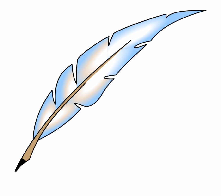 Feather Clip Art Transparent Background , Png Download.