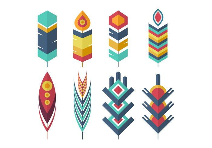 Free Feather Vector Collection.