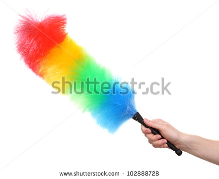 Feather Duster Stock Photos, Royalty.