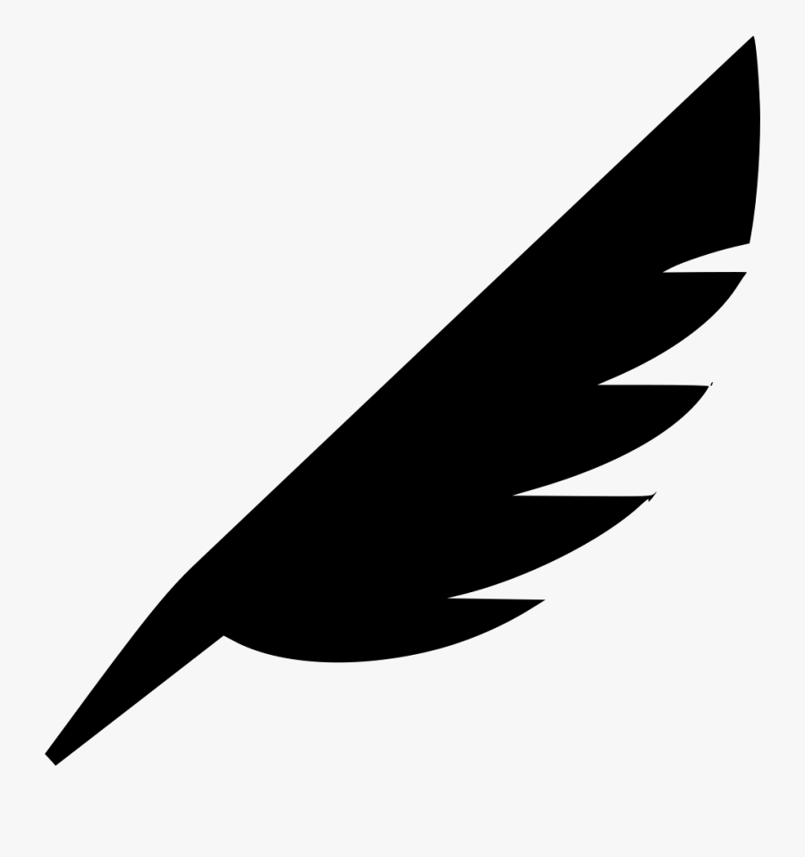 Transparent Feather Pen Png.
