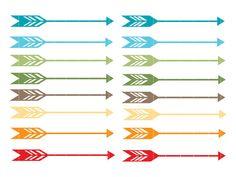Feather arrow clipart.