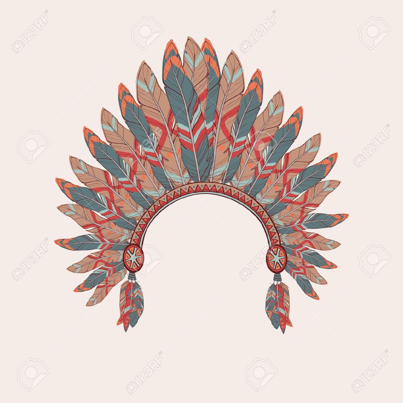 Feather Headdress Clipart (38+).