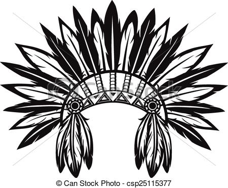 Feather headdress Vector Clipart EPS Images. 1,105 Feather.