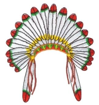 Indian headdress clipart free.