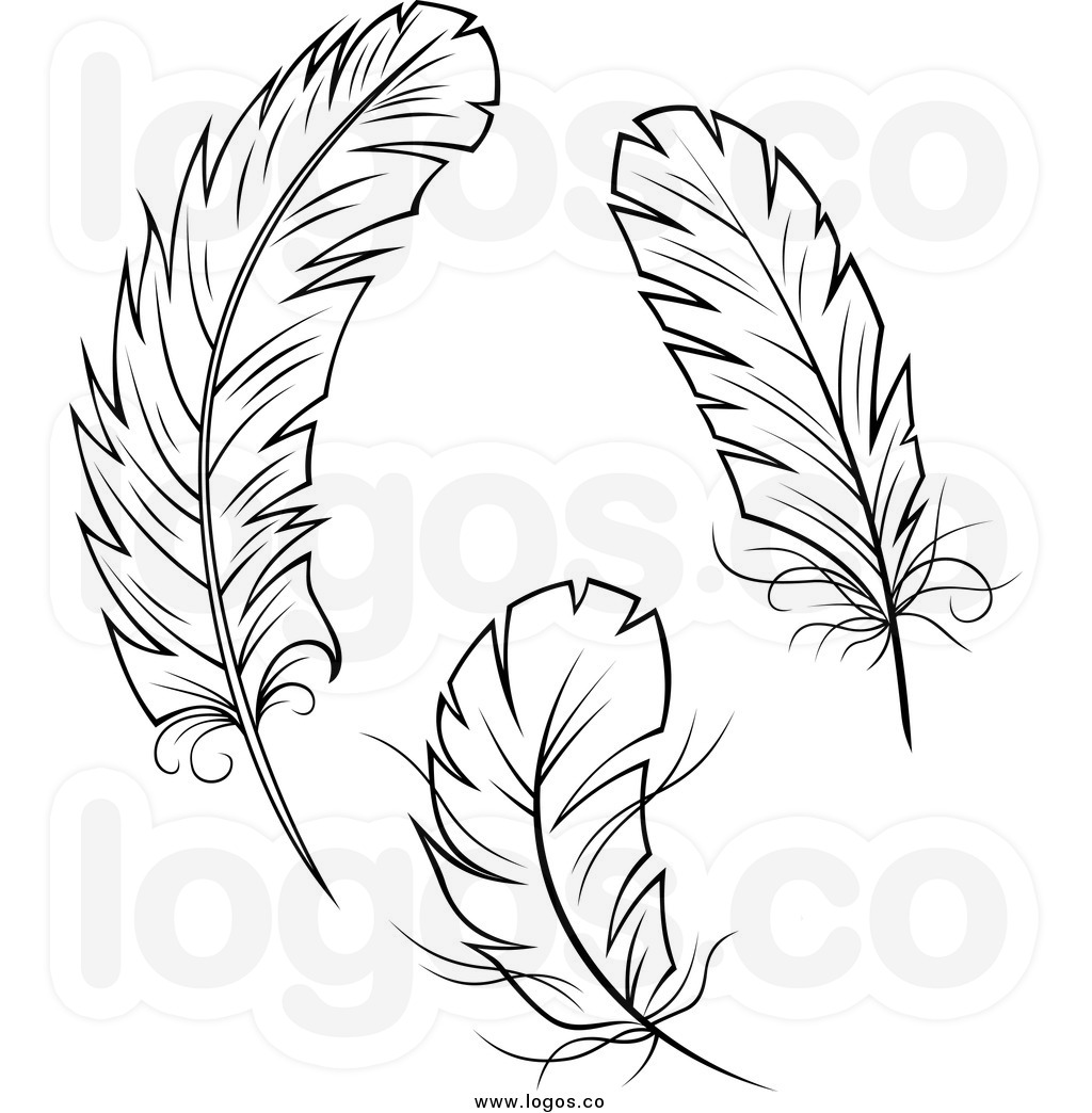 Feathers Clipart Page 1.