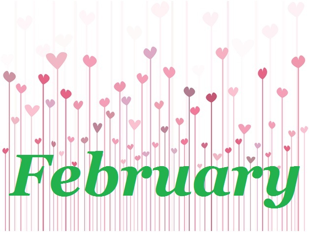 February Clipart.