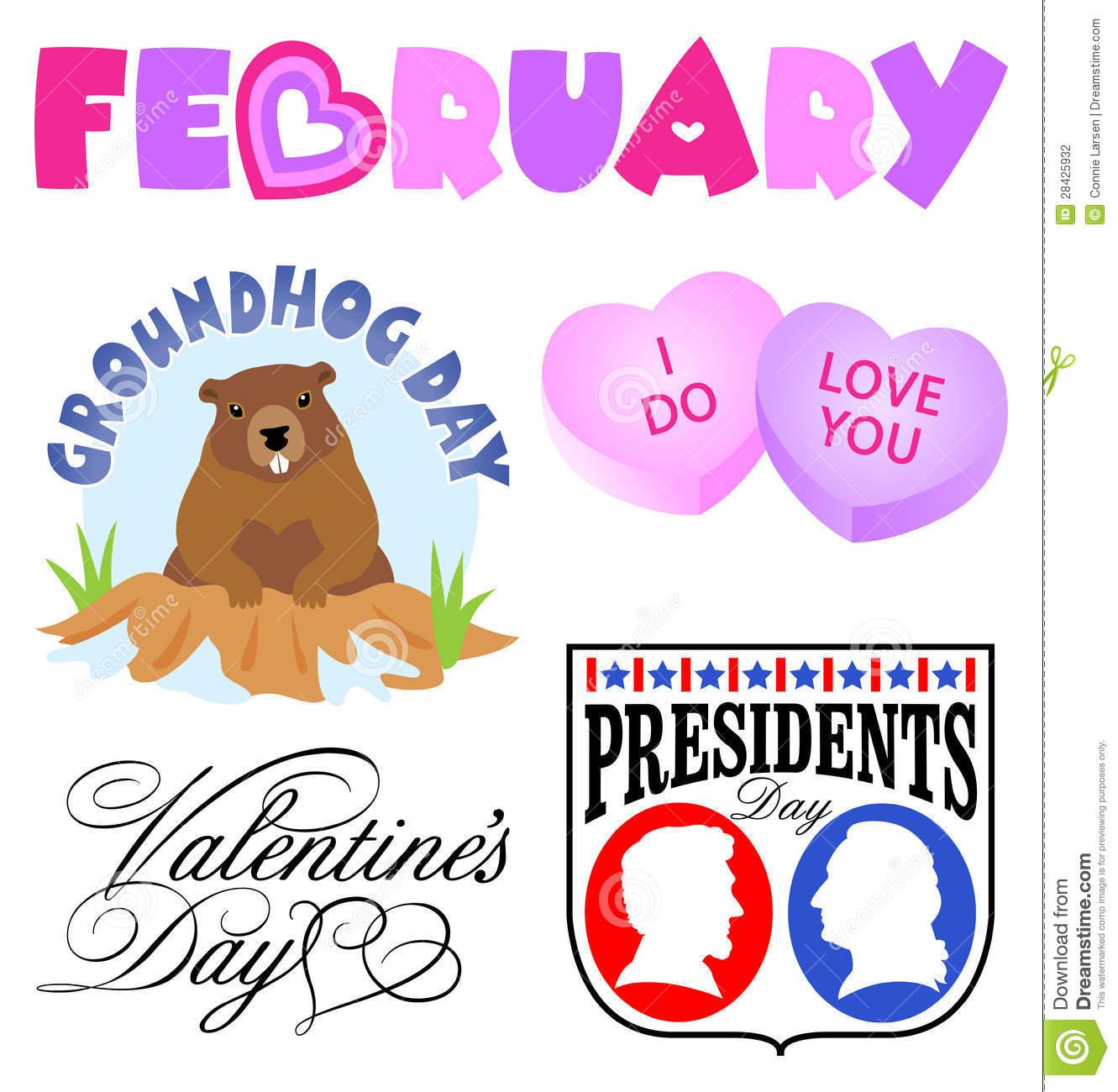 February free clip art.