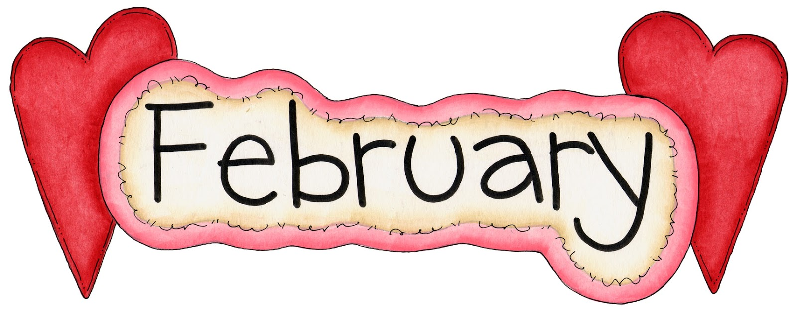 Library of february calendar clip art png files.