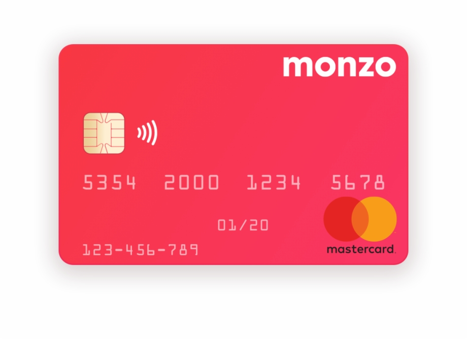 27Th February 2018 Mock Up Of A Monzo.