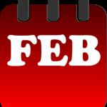 february calendar heading clipart february calendar clipart.