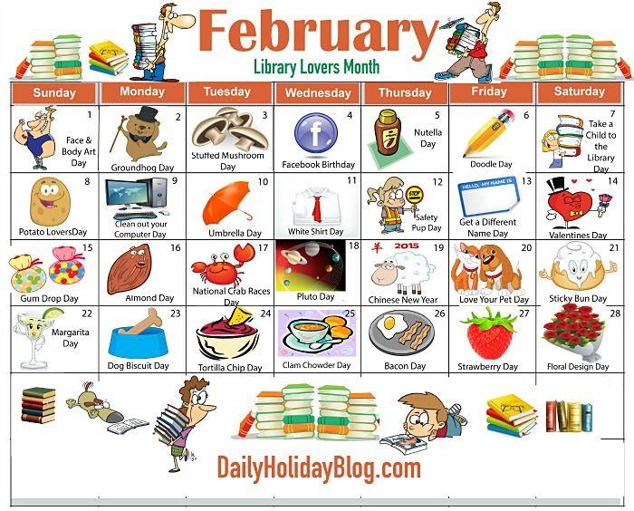 17 Best ideas about February Calendar on Pinterest.