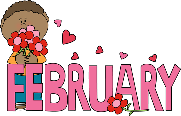Month of February Valentine's Day..