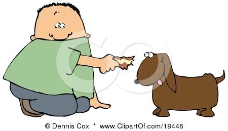 Feed Dog Clipart.