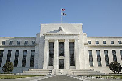 Federal Reserve Bank, Washington, DC, USA Royalty Free Stock.
