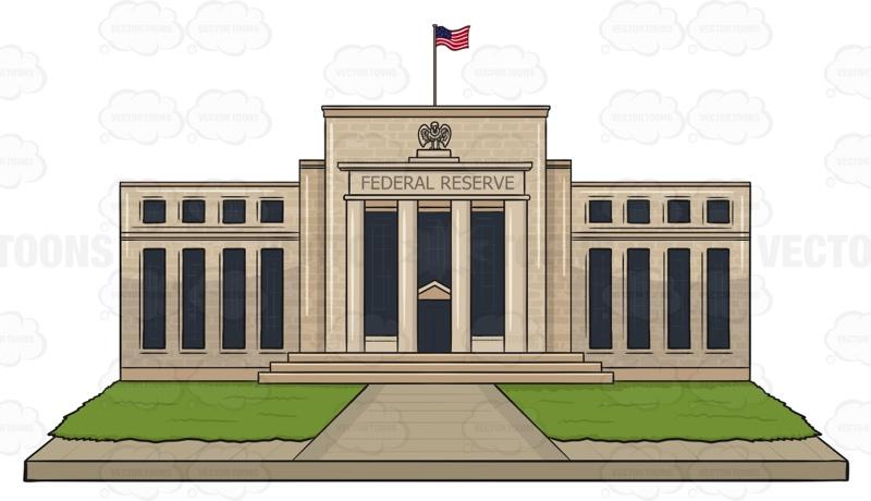 Federal Reserve Bank Clip Art.