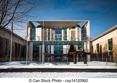 Stock Photographs of Federal Chancellery in Berlin csp14120992.