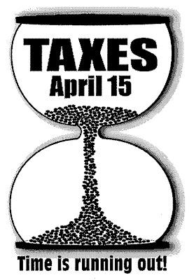 Federal Tax Clip Art.