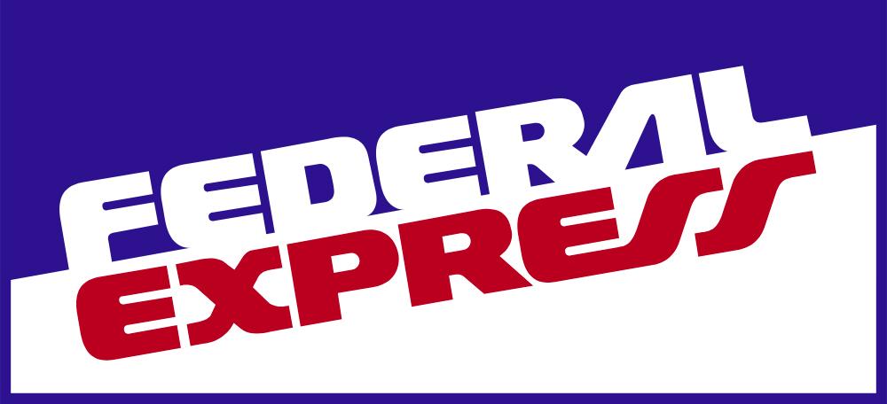 Original Federal Express Logo 1973.