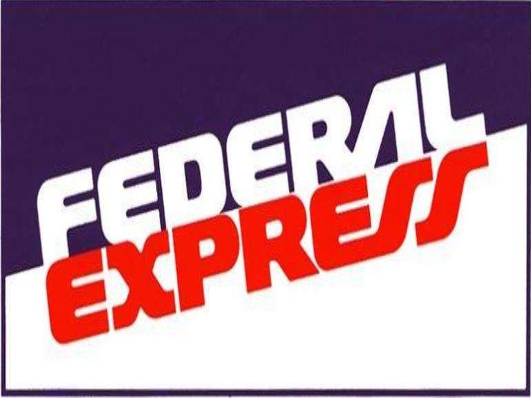 First Federal Express Logo.